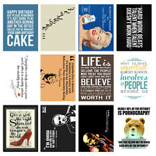 Funny, Retro Metal Signs/Plaques, Cool Novelty Gift, Quotes 11