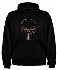 FELPA THE PUNISHER PUNITORE FUMETTI TESCHIO SKULL TSHIRT SIL CCp007