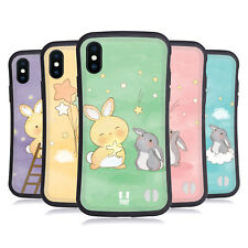 HEAD CASE ATTRAPPEUR D'ÉTOILE LAPINS ÉTUI COQUE HYBRIDE POUR APPLE iPHONE X