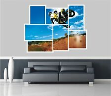 Huge Collage View Scrambling Mx Motor Cross Wall Stickers Decal 269