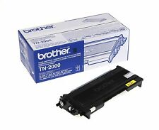 1 x Brother Original OEM Laser Toner Cartridge TN2000 - 2500 Pages