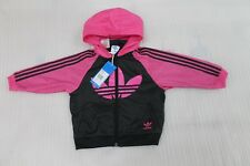 GIRL,S ,S ADIDAS ORIGINAL WINDBREAKER JACKET BNWT 15