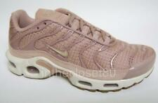 Nike Air Max Plus Particle Pink Sail Off White Womens Trainers 605112 603