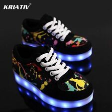 Children led shoes Boy Girl glowing sneakers Kids Light Up shoes Luminous