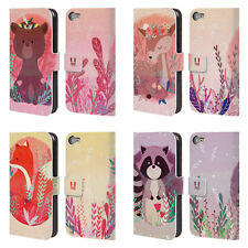 HEAD CASE DESIGNS WOODLAND ANIMALS LEATHER BOOK CASE FOR APPLE iPOD TOUCH MP3