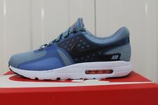 MEN,S NIKE AIR MAX ZERO ESSENTIAL DARK BLUE/WHITE/BLACK 876070-400 BNIB 36