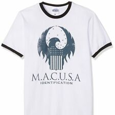Fantastic Beasts - MACUSA logo T Shirt - NEW & OFFICIAL