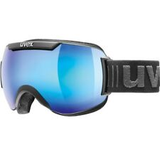 Uvex Downhill 2000 FM - Maschera sci - black blue mirror 2018