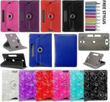 RIPIEGHEVOLE UNIVERSALE CUSTODIA COVER a flip in pelle per Android Tablet PC 7 ""