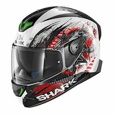 SHARK SKWAL 2 SWITCH RIDER 1 WKR CASCO INTEGRALE IN LEXAN CON LUCI LED XS A XL