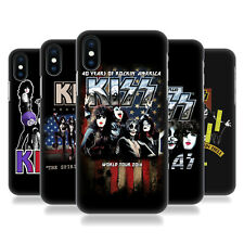 OFFICIAL KISS TOURS HARD BACK CASE FOR APPLE iPHONE PHONES