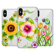 HEAD CASE DESIGNS WATERCOLOURED FLORALS HARD BACK CASE FOR APPLE iPHONE PHONES