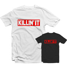 Killin' IT T SHIRT 1143 - Dope Swag slip taille basse Hype Reckless Tumblr