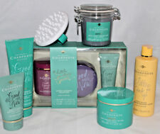 CHAMPNEYS SPA DETOX GIFT SET SHOWER CREAM FOOT SCRUB FIRMING MUD BODY BUTTER