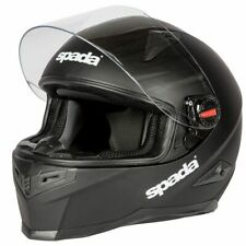 Spada RP900 Full Face Motorbike Motorcycle Helmet Lid - Plain Matt Black