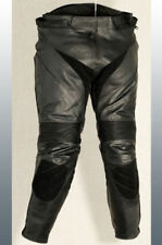 Motorbike Leather Trousers Motorcycle pants CE Armour