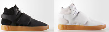 Adidas Men Originals Tubular Invader Strap Shoes Black or White  BY3630 BY3629