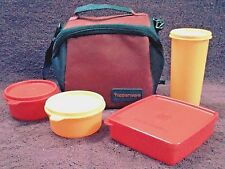 Tupperware - PREMIER lunch set with 3 containers, 1 tumbler & 1 Bag, Elegant