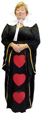 World Book Day-Panto-Alice in Wonderland-EVIL QUEEN OF HEARTS - All Ladies Sizes
