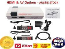 Classic real Retro 620 TV Games in FULL HD - 2 Controllers - AUSSIE Plug