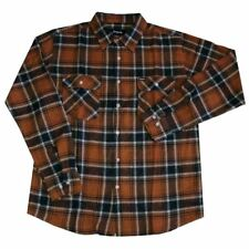 Brixton Bowery Flannel L/S Shirt Rust
