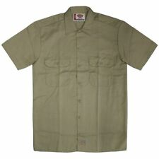 Dickies 1574 Short Sleeve Work Shirt Khaki