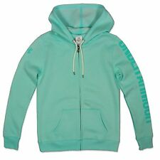 Under Armour Mujer Warm Up Logo Chaqueta Sudadera Con Capucha Loose Fit turquesa