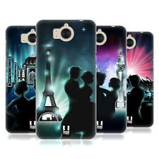 HEAD CASE DESIGNS LOVERS AVENUE HARD BACK CASE FOR HUAWEI Y6 (2017) / NOVA YOUNG