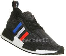 Adidas NMD R1 PK PrimeKnit TriColor Black Blue Red White BB2887 Mens Trainers