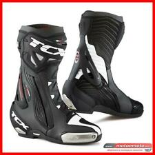 Stivali Moto Tcx RT Race Pro Air Nero Bianco Pista Racing Top Gamma