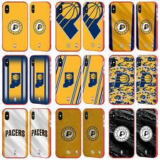 UFFICIALE NBA INDIANA PACERS ROSSO FENDER CASE PER APPLE iPHONE TELEFONI