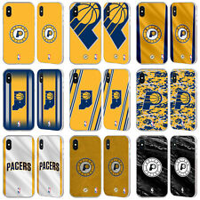 UFFICIALE NBA INDIANA PACERS ARGENTO FENDER CASE PER APPLE iPHONE TELEFONI
