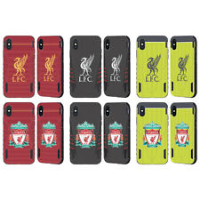 LIVERPOOL FC LFC KIT 2016/17 NERO EVOLUTION CASE PER APPLE iPHONE TELEFONI