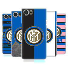 UFFICIALE INTER MILAN 2017/18 CRESTA COVER RETRO RIGIDA PER BLACKBERRY TELEFONI
