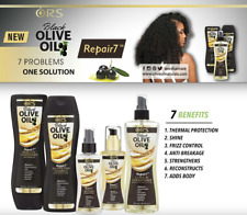 ORS Black Olive Oil Repair7 Sulfate-Free Shampoo Conditioner leave in treatment