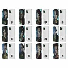 AMC THE WALKING DEAD CHARACTERS LEATHER BOOK WALLET CASE FOR APPLE iPHONE PHONES