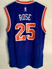 NBA DERRICK ROSE NEW YORK KNICKS MAGLIA CANOTTA da basket