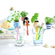 Kawaii Japan Anime Harajuku Animal Plant Planta Self-watering Autorriego Straw