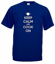 T-shirt Maglietta B37 Keep Calm and Cook On