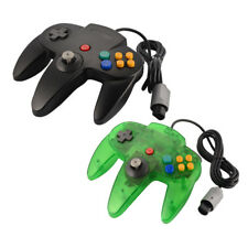 Wired Game Controller Gamepad Joypad Black/Green for Nintendo N64 Game Console