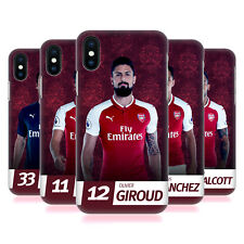 ARSENAL FC 2017/18 PRIMA SQUADRA GRUPPO 1 COVER RETRO PER APPLE iPHONE TELEFONI