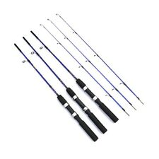 1.2M/1.5M Carbon Fiber Telescope Fishing Rod Travel Sea Spinning Pole+Reel Set