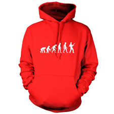 Evolution of Man Bajo Player - Sudadera Capucha Unisex/Sudadera Con -9 COLORES