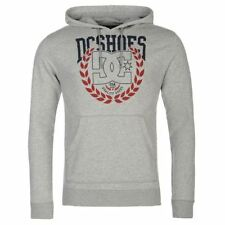 DC Shoes USA Blader Pullover Hoody Mens Grey Hooded Sweatshirt Sweater