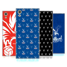 OFFICIAL CRYSTAL PALACE FC 2017/18 CREST AND PATTERNS GEL CASE FOR SONY PHONES 1