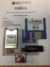 KIT ADF PCMCIA Compact Flash CF 32 MB, 2 GB o 4 GB. Amiga 600/1200 Lettore USB