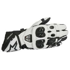 Alpinestars GP Pro R2 Mens Motorcycle Sport Racing Black White Leather Gloves