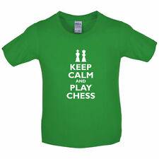 keep calm and play ajedrez - Infantil/Camiseta Manga Corta Niño - Player - Juego