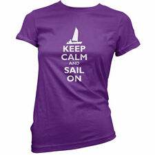 Keep Calm and Sail On - Donna / T-shirt da donna - VELA - Marinaio - Boating