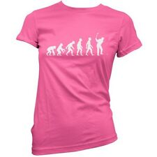 EVOLUTION OF MAN Golf Mujer / Camiseta Mujer / Golfing Top - Camisa - 11 Colores